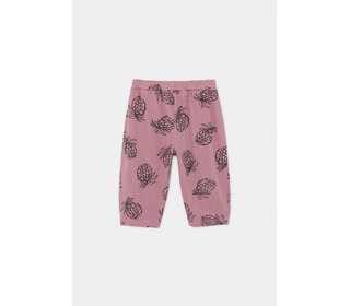 All Over Pineapple Jersey Trousers│Bobo Choses