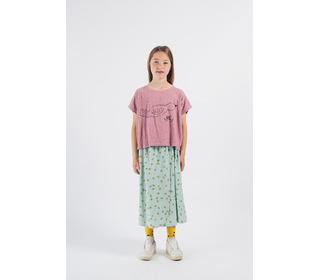Bird Short Sleeve T-Shirt│Bobo Choses