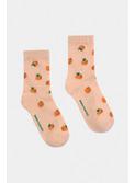 All Over Oranges Short Socks