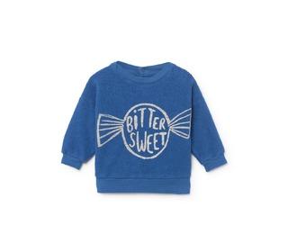 Bitter Sweet skin fleece sweatshirt │ Bobo Choses