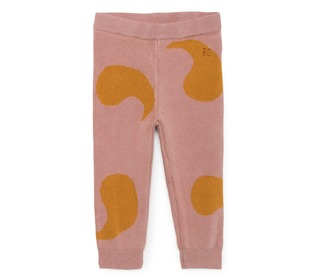Rose knitted trousers │Bobo Choses