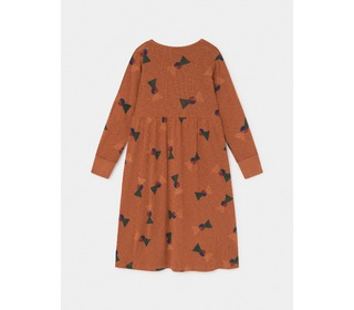 All Over Flags jersey Dress - Bobo Choses