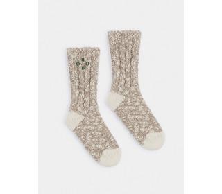 Grey Bobo Thick Socks - Bobo Choses