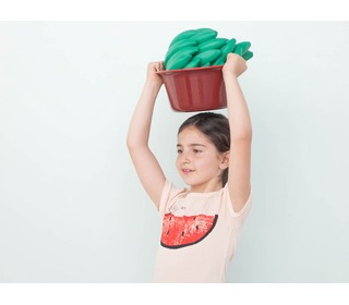 t-shirt met watermeloen | Bobo Choses