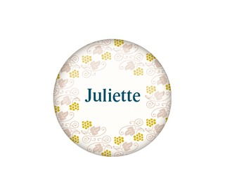 button 32mm - Paper and June