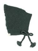 Smurf knit hat - pine green