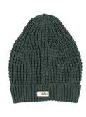 Alpine knit hat - pine green