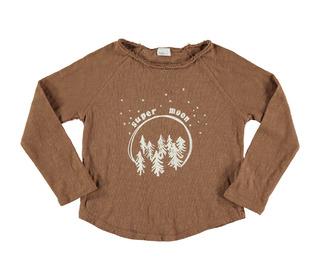 Lou super moon t-shirt caramel | buho