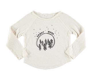 Lou super moon t-shirt talc | buho