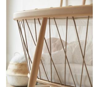 Kumi crib mesh/hazelnut - Charlie Crane