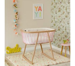 Kumi crib mesh/pink - Charlie Crane
