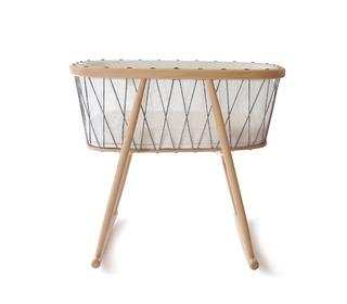 Kumi crib mesh/black & white - Charlie Crane