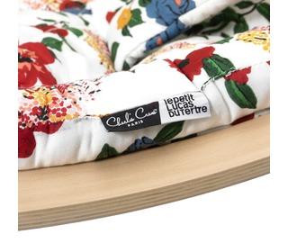 Kussen Hibiscus Le Petit Lucas du Tertre voor wipstoel Levo - Charlie Crane