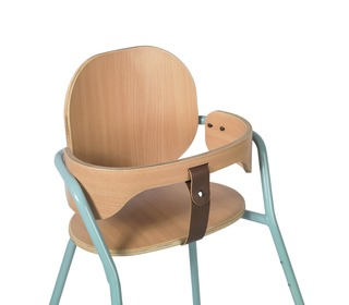 Kinderstoel TIBU Flexible High Chair, Aruba Blue - Charlie Crane