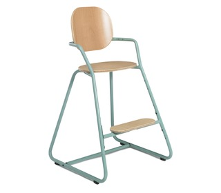 Kinderstoel TIBU Flexible High Chair, Aruba Blue - Charlie Crane