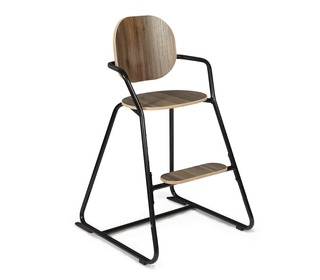 Kinderstoel TIBU Flexible High Chair, Black Edition - Charlie Crane