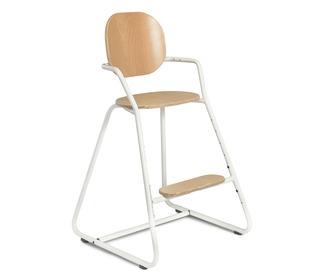 Kinderstoel TIBU Flexible High Chair, Gentle White - Charlie Crane