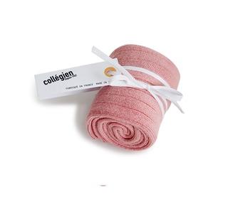 kniekousen - rose/quartz - Collégien