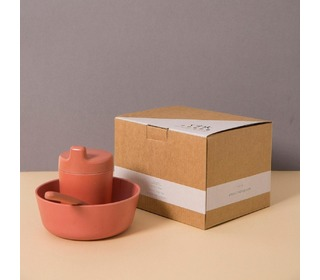 Bamboo giftbox for babys, brick - Cink