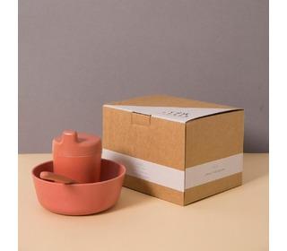 Bamboo giftbox for babys, brick - Cink