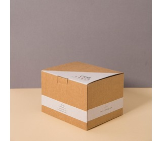 Bamboo giftbox for babys, Beet - Cink