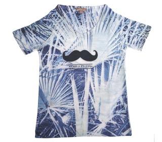 t-shirt photo blue | Emile et ida