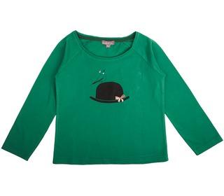 T-shirt - Vert Chapeau │Emile et Ida