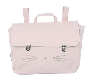 Schoolbag Chaton3 rose - Emile et Ida