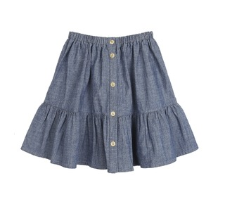Skirt Chambray│Emile et Ida