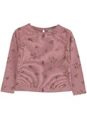 T-shirt Chataigne Floral
