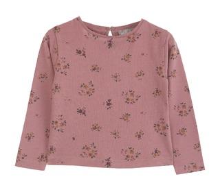 T-shirt Chataigne Floral - Emile et Ida
