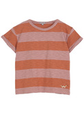 Tee-shirt - terre orange