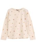T-shirt - fleur coquille