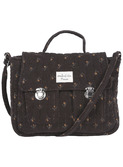 Sac velours quilte - jonquille