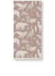 Katy scott wallpaper - animal - dusty rose