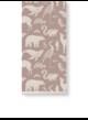 Katy scott wallpaper - animal - dusty rose