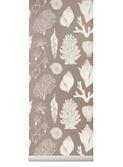Katy scott wallpaper - shells - rose