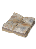 Muslin Squares - set of 3 - Safari