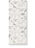Katy Scott wallpaper - animals - offwhite