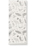 Katy Scott wallpaper - birds - offwhite