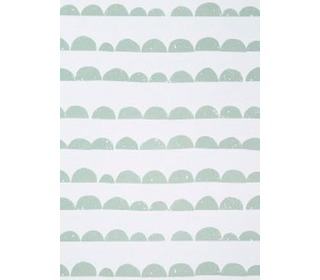 behangpapier half moon mint - Ferm Living