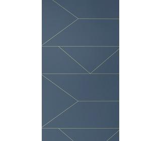 behang Lines - dark blue - Ferm Living