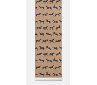 Horse wallpaper - Ferm Living
