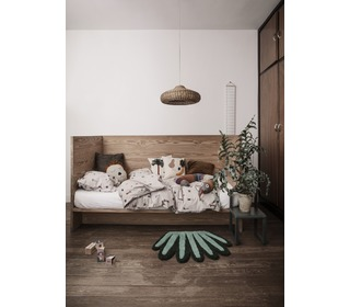 Tufted wall / floor deco - coral - Ferm Living