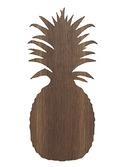 Pineapple lamp Smoked Oak