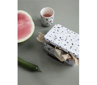 Lunch box - terrazzo - Grey - Ferm Living