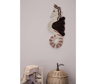 Tufted wall / floor deco - seahorse - Ferm Living
