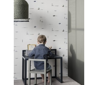 Little architect desk - dark blue - Ferm Living
