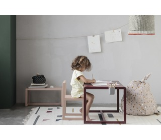 Little architect table - bordeaux - Ferm Living