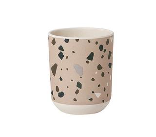 Bamboo cup - terrazzo - Rose - Ferm Living